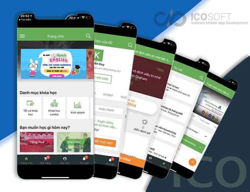 công ty chuyên làm app Icon Technic