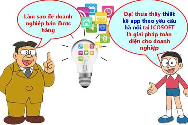 Thiết kế app theo yêu cầu hà nội